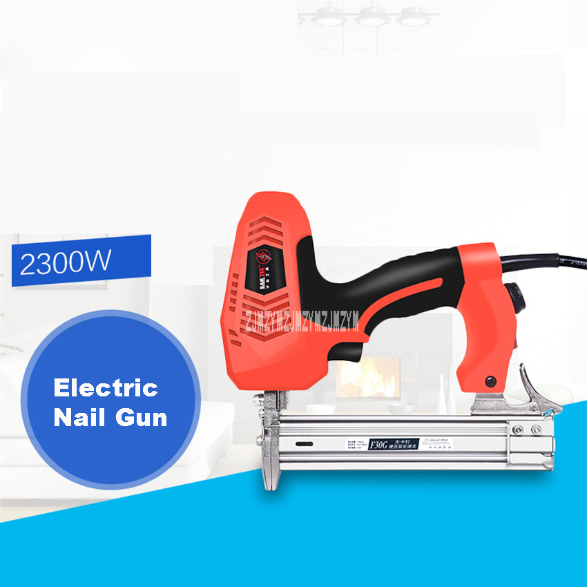New Electric Nail Gun Nail Gun Woodworking Tools Row Nail Gun 220-240v 2300W 45PCS/min Non-standard Dual-use Nail Gun (5M line) видеоигра бука saints row iv re elected