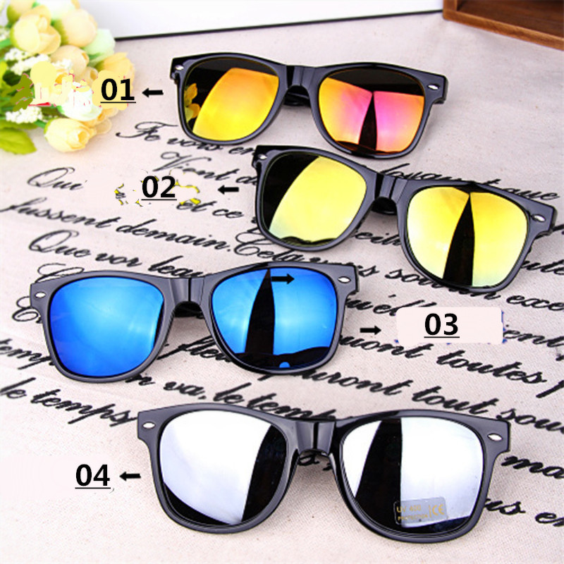 2019 New Fashion Square Damen Sonnenbrille High-End-Markendesign Klassische Herrenbrille UV400 Gelb Nachtsichtbrille