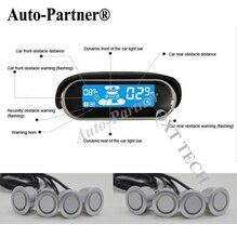 Capteurs de Stationnement de voiture 8 Intempéries Arrière Vue de Face Par le Radar De Secours Kit Système LCD Moniteur D'affichage pour skoda pour BMW