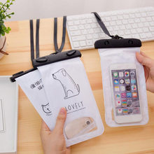40ca72b2a18a 1 Pcs hot swimming Bags Waterproof Bag with Underwater Pouch Phone Case For  phone paper document