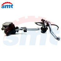 Hydraulic Brake Cable Clutch 7 8 CNC Dirt Bike Brake Master Cylinder Reservoir Levers For Honda