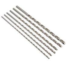 цена на HSS Straight Shank Twist Drill Bit 6-12mm Diameter Extra Long HSS Straigth Shank Auger Twist Drill Bit Set 350mm For Aluminum