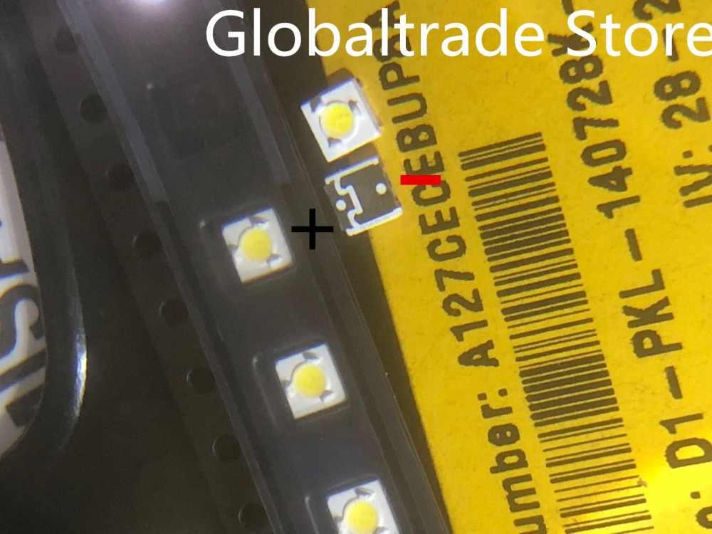 1000 lúmenes lg innotek samsung wooree diodo led 3535 3537 alta potencia 1W 3V blanco frío para LED LCD TV luz de fondo lámpara cuentas