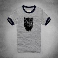 1 Black Panther Printed T Shirt Men Stylish Women Black Panther Compression Black T Shirt Male
