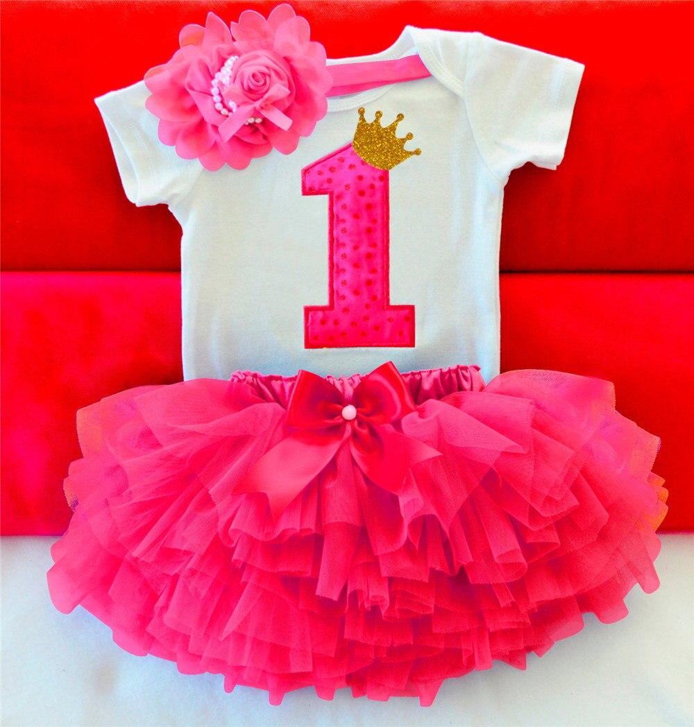Neugeborenes Baby Kleidung Kleinkind Mädchen Ersten Geburtstag ...