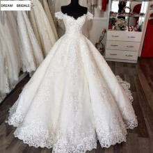 DREAM BRIDALS Vintage Wedding Dresses Bridal Gowns V-neck