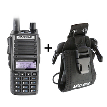 Original Dual Band BaofengUV-82 Professional Walkie Talkie with Flashlight Dual PTT Earphone and Carrying Bag