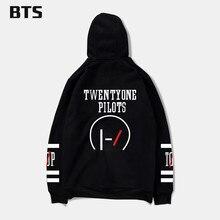 BTS New Brand Sweatshirt Twenty One Pilots Number Men Kpop Hoodies Fashion Logo Hoodies And Hip Hop Fashion Style 4XL