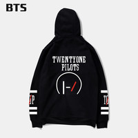 New Brand Sweatshirt Twenty One Pilots Number Women Kpop Hoodies Fashion Logo Hoodies And Hip Hop