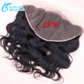 7A Grade13x6 Lace Frontal Closure With Baby Hair Maylasian Hair Ear to Ear Lace Frontal Closure Bleached Knots Soft Quality