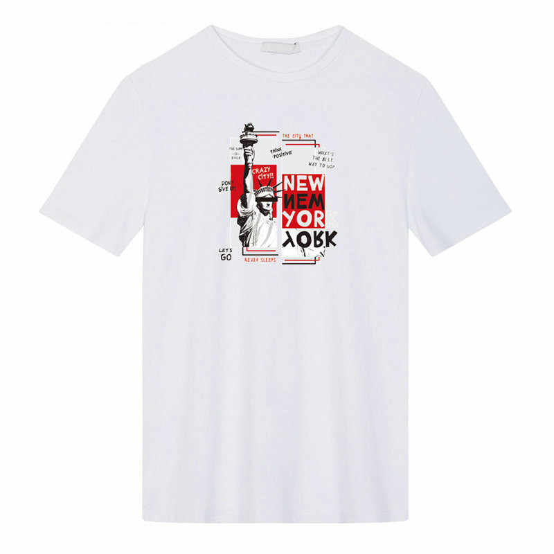 Fer sur Patch brouté ville New York impression facile par fers ménagers Parches Ropa T-Shirt bricolage décoration a-level lavable Applique