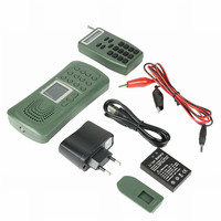 Outdoor Bird Player Electronics Birds Caller 120DB 10W No Remote Control Portable Mp3 Sounds Players Hunting