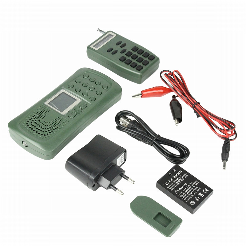 Outdoor Hunting Electronic Decoy Bird Caller 120DB 10W Remote Control Hunting Mp3 Sounds Players Loud Speaker with Timer on/off xilei wholesale hunting decoy electronic bird callers dc 12v 2017 built in 210 bird sounds bird caller hunting decoy speakers wi