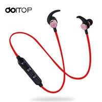 Kablosuz Bluetooth Kulaklık Spor El-ücretsiz Telefon Için Mic Ses Kontrolü Ile Kulaklık Kulaklık Iptal Gürültü Kulak Kancası