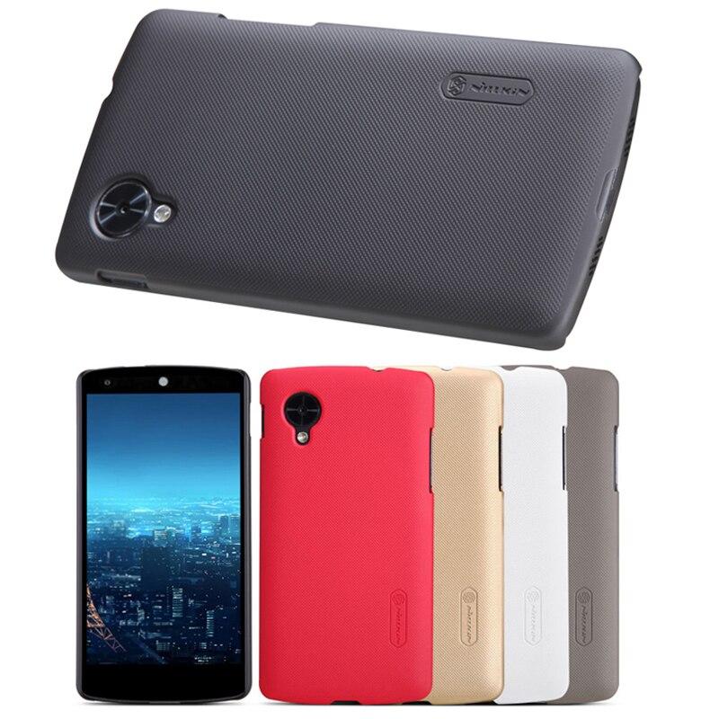 For LG GOOGLE NEXUS 5 Case, Nillkin Hard Plastic Matte Skin Cover Case Shell For LG Google Nexus 5 Gift Screen Film Protector