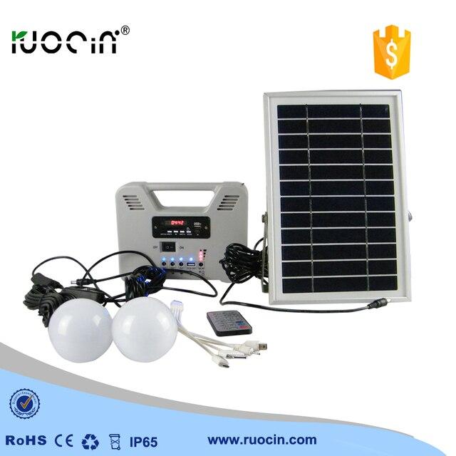 Hot solar verlichting kit multifunctionele emergency home licht in ...