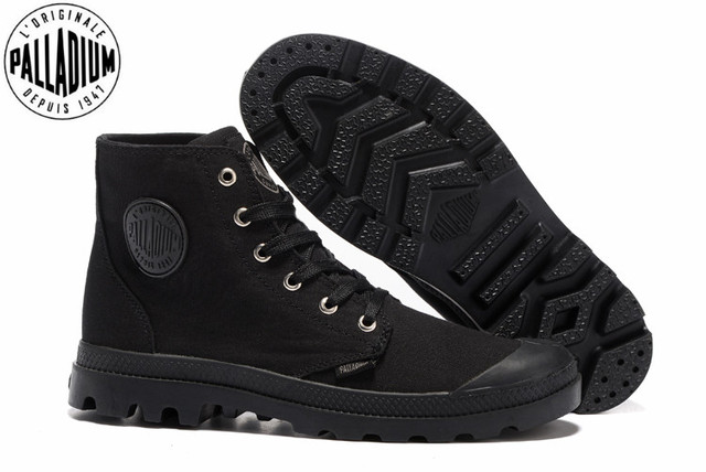 114caa38fef US $62.0 |PALLADIUM PAMPA HI ORIGINALE TC FOOTWEAR Classic Canvas Shoe  Ankle Boots Fashion Casual Shoes 40 44-in Men's Casual Shoes from Shoes on  ...