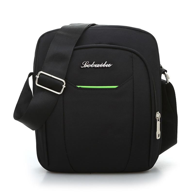 Black Business Messenger Bag Contracted Joker Unisex Crossbody Bag More Zippers Large Capacity Flap Bag Preppy Style Leisure Bag 2
