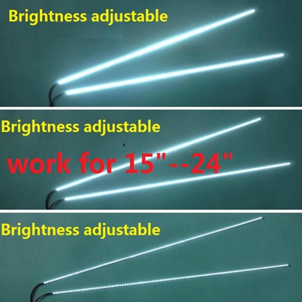 24 Inch Adjustable Light LED Backlight Kit 540mm,work For 15
