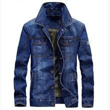 2018 New Arrivals Men's Cotton Denim Jackets Brand Man Jean Jacket Coat Casual Denim Jackets Plus Size 4XL Winter Coats C1405