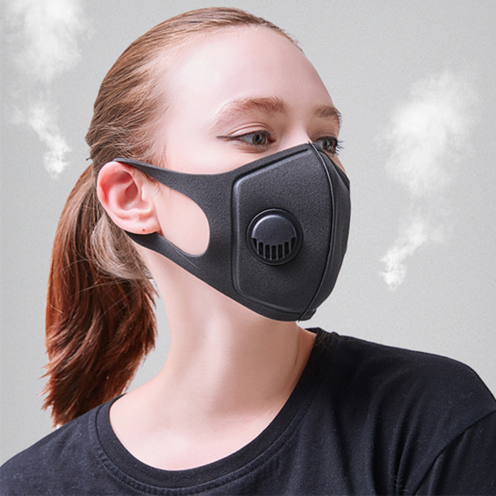 Personal Health Care Aggressive 1pcs Fashion Respirator Mask With Breathing Valve Washable Cotton Activated Carbon Filter Pm2.5 Mouth Masks For Children Kids Masks