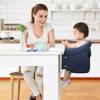 Baby Chair Folding Portable Child Baby Out Seat Dinette Infantil Kids Puff Asiento Baby Feeding Chair Safety Belt