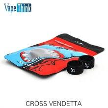 10PCS Original Vapethink Steam Shark Vapeband CROSS VENDETTA E-cig Vape Accessories for box mod vape rubber e-cigarette vape kit
