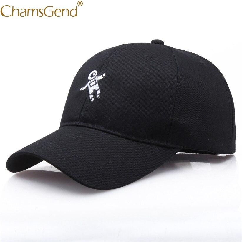 Emberoidery Astronaut Solid   Baseball     Caps   Unisex Women Men Boys Girls Sun Hat Snapback Fashion Summer Hats Adjustable 90118