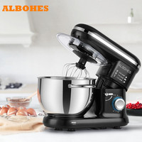 ALBOHES SM 1301Z Portable Blenders 600W Bowl lift Stand Mixer Food Processor 6 Speed Settings Kitchen home machine top quality