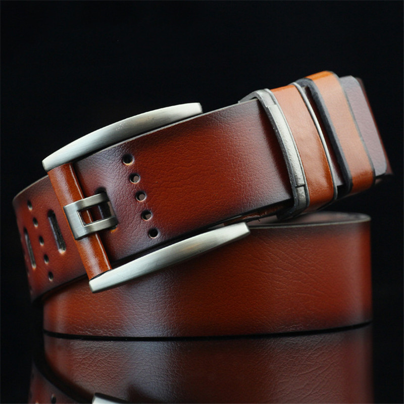Luxury Pin Buckle Belts Retro Leisure Men s Belt for Male Leather Belt Quality PU Leather