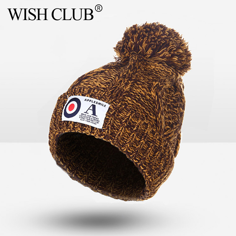 Cutely!! Winter Cap For Girls Boys Skullies Beanies For Babys Warm Hat Kids Knitted Hats For Baby Drop Shipping casquette skullies