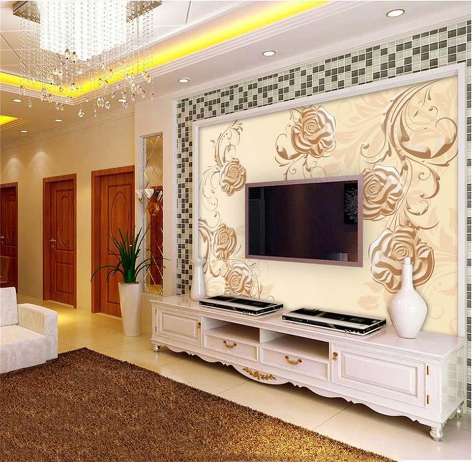 Golden Rose Wallpaper Promotion Shop For Promotional Golden Rose