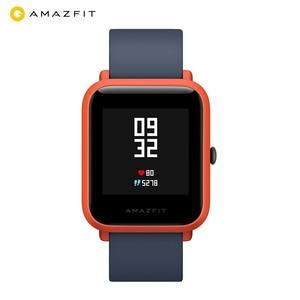 Image 2 - Huami Amazfit ביפ Amazfit חכם שעון GPS Bluetooth קצב לב צג 45 ימים סוללה חיים IP68 עמיד למים גברים נשים Smartatch