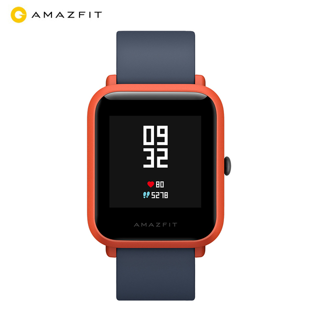Huami Amazfit Bip Amazfit Smart Watch GPS Bluetooth Heart Rate Monitor 45 Days Battery Life IP68 Waterproof Men Women Smartatch