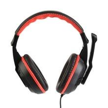 3,5 мм Регулируемые Игровые наушники стерео типа с шумоподавлением проводные Наушники Компьютерная гарнитура геймера с микрофонами наушники