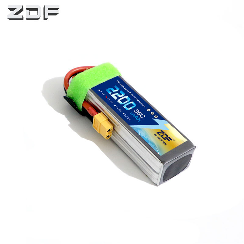 ZDF High Quality <font><b>Lipo</b></font> Battery 11.1v <font><b>2200mah</b></font> 35C <font><b>3S</b></font> Max70C <font><b>Lipo</b></font> <font><b>Bateria</b></font> for RC Car Boat Airplane Quadcopter FPV truck image