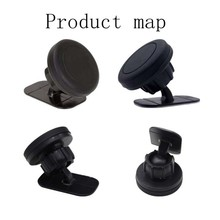 цена на 360 Degree Rotation Strong Magnet Car Phone Holder 3Long Arm Windshield Mount Bracket Stand with Suction Cup adjustable holder