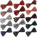 Chegada NOVA Clássico Bowtie Moda Gravatas Ajustáveis Homens Casamento Bow Tie Poliéster Bowties para o homem Livre Shippin