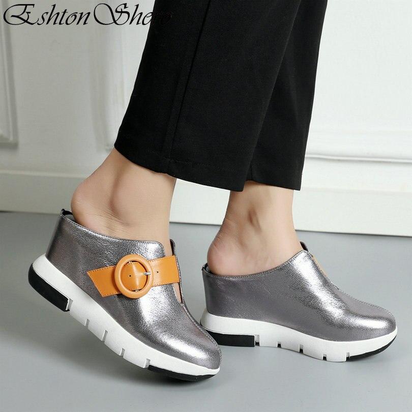 Playa Mezclados Tamaño Zapatillas Eshtonshero Mujer Sandalias 8 Boda Señoras De Tacones Las plata 3 Alta Negro Cuña Colores Zapatos Plataforma ZqvPwryq5