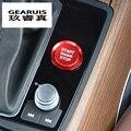 Auto Styling Key Start Taste Dekorative Rahmen Abdeckung Trim aufkleber Für Audi A4 B9 A5 A6 C7 Q7 A7 A8 q5 Innen Auto Zubehör