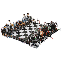 NEW 2475Pcs Creative The movies series Castle Set 852293 Large Chess Building Blocks legoinglys toys for Children gifts