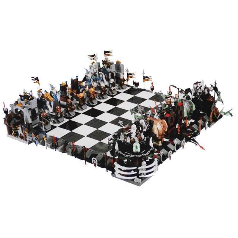 Nouveau 2475 pièces Creative The films série château Set 852293 grands blocs de construction d'échecs legoinglys jouets pour enfants cadeaux
