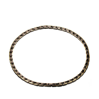 Stainless Steel Magnet Germanium Far Infrared Chain link Necklace for Men Women Chokers Slimming Necklaces Health Jewelry