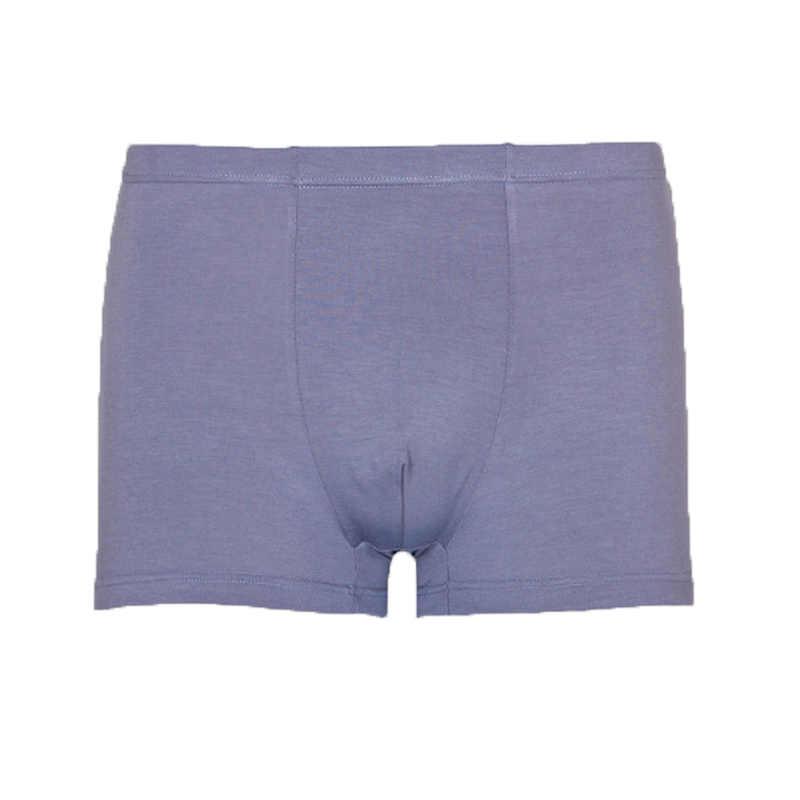 Pria Bernapas Boxer Bambu Pakaian Tonjolan Kantong Mens Petinju Besar Ukuran XL untuk 5XL Cuecas Plus Ukuran Calzoncillos Lembut Celana Dalam