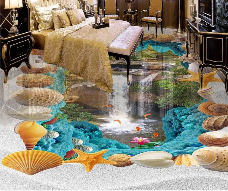 3d flooring custom wallpaper 3d floor murals Ocean waterfalls 3d photo wallpaper room mural 3d floor wallpaper living room 3d floor murals custom wallpaper 3d floor photo mural wallpaper flower european marble pattern vinyl flooring living room