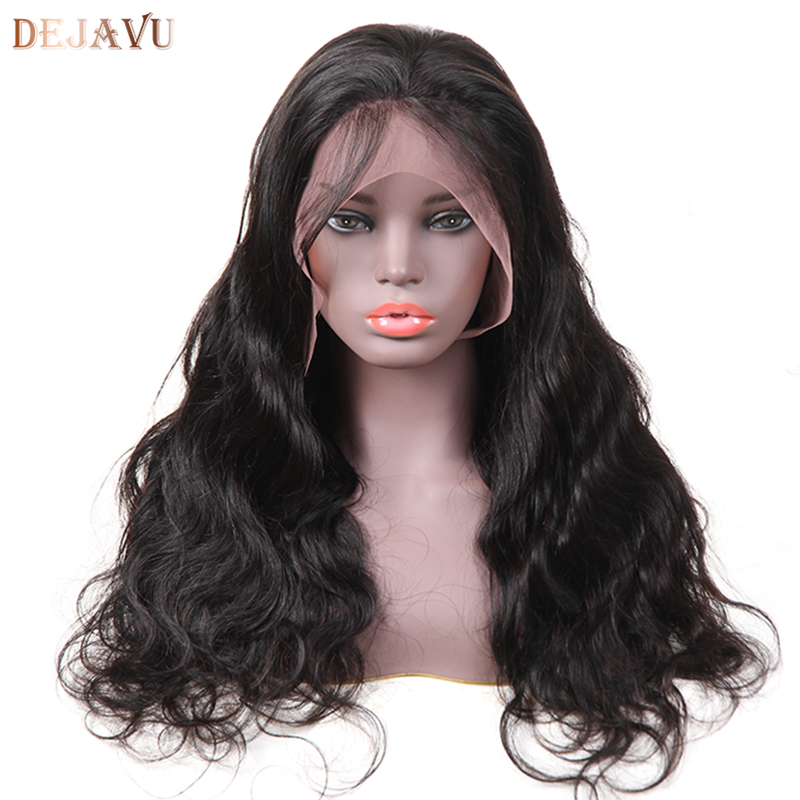 Lace Front Human Hair Wigs For Women Pre Plucked Hair Line With Baby Hair 8-26Inch Brazilian Remy Hair Bleached Knots Dejavu