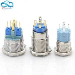 Image 2 - مفتاح ضغط زر معدني يمكن تخصيص قفل ذاتي متعدد الرسومات مفتاح إجمالي 12 فولت 24 فولت 110 فولت 220 فولت usb wifi