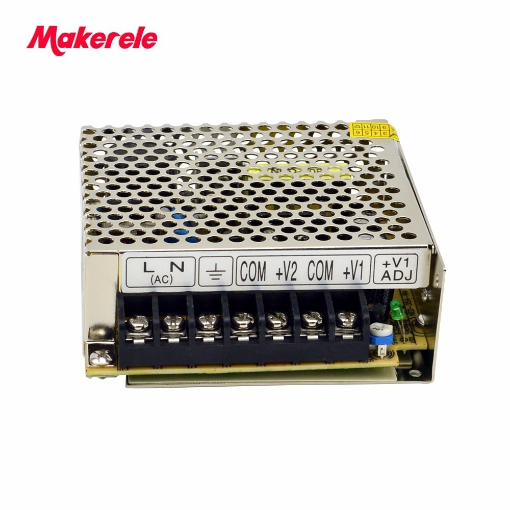 35w dual output Switch Power Supply NED-35A 5V4A 12V1A two outputs Wenzhou smps factory high quality dual output 5v 24vdc 2 port power supply 35w driver ce ul ned 35b china