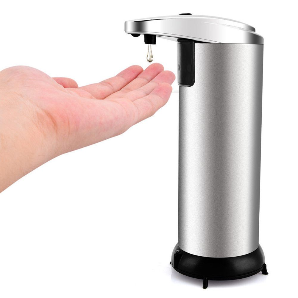 Stainless Steel Automatic Soap Liquid Dispenser Contactless Infrared Smart Sensor Infrared Smart Sensor Auto Liquid Dispensers