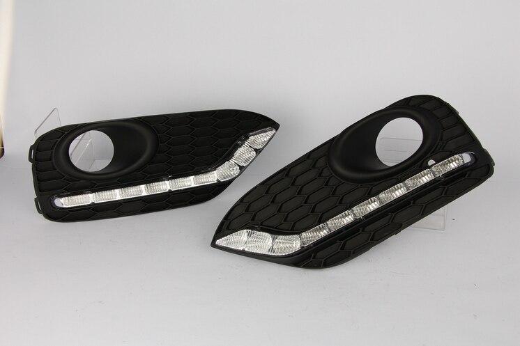 2 stücke Auto LED Drl Licht Lampe Relais 12 V Tageslicht Für Honda ...
